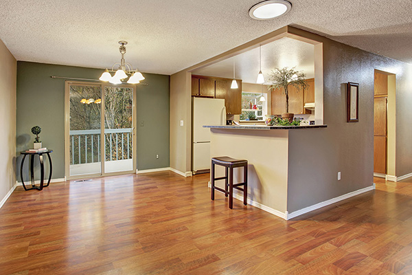 Hardwood Flooring - Dining Room